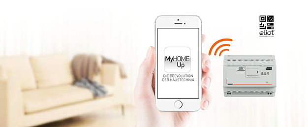 MyHOME / MyHOME_Up bei Christ Gebäudetechnik GmbH & Co. KG in Kirtorf